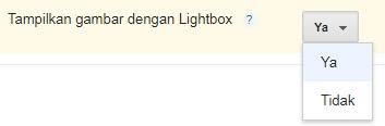 Tampilkan gambar dengan Lightbox