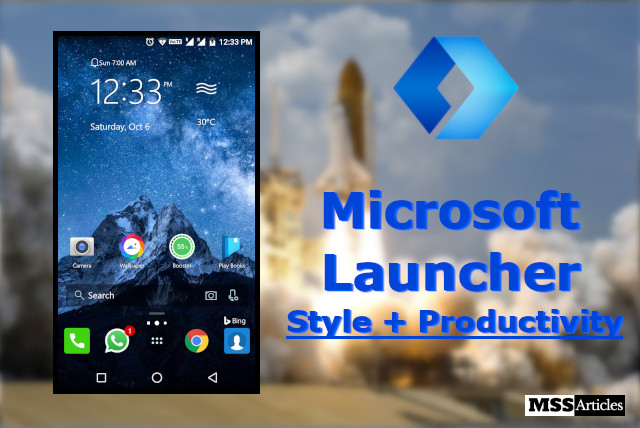 Microsoft Launcher for Android Smartphone Review