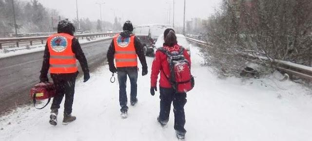 Ελληνική Ομάδα Διάσωσης: Ανύπαρκτος ο κρατικός μηχανισμός απέναντι στο χιονιά!
