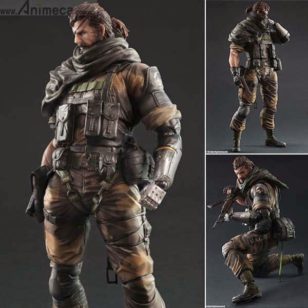 Play Arts Kai VENOM SNAKE Splitter Ver. Metal Gear Solid V The Phantom Pain SQUARE ENIX