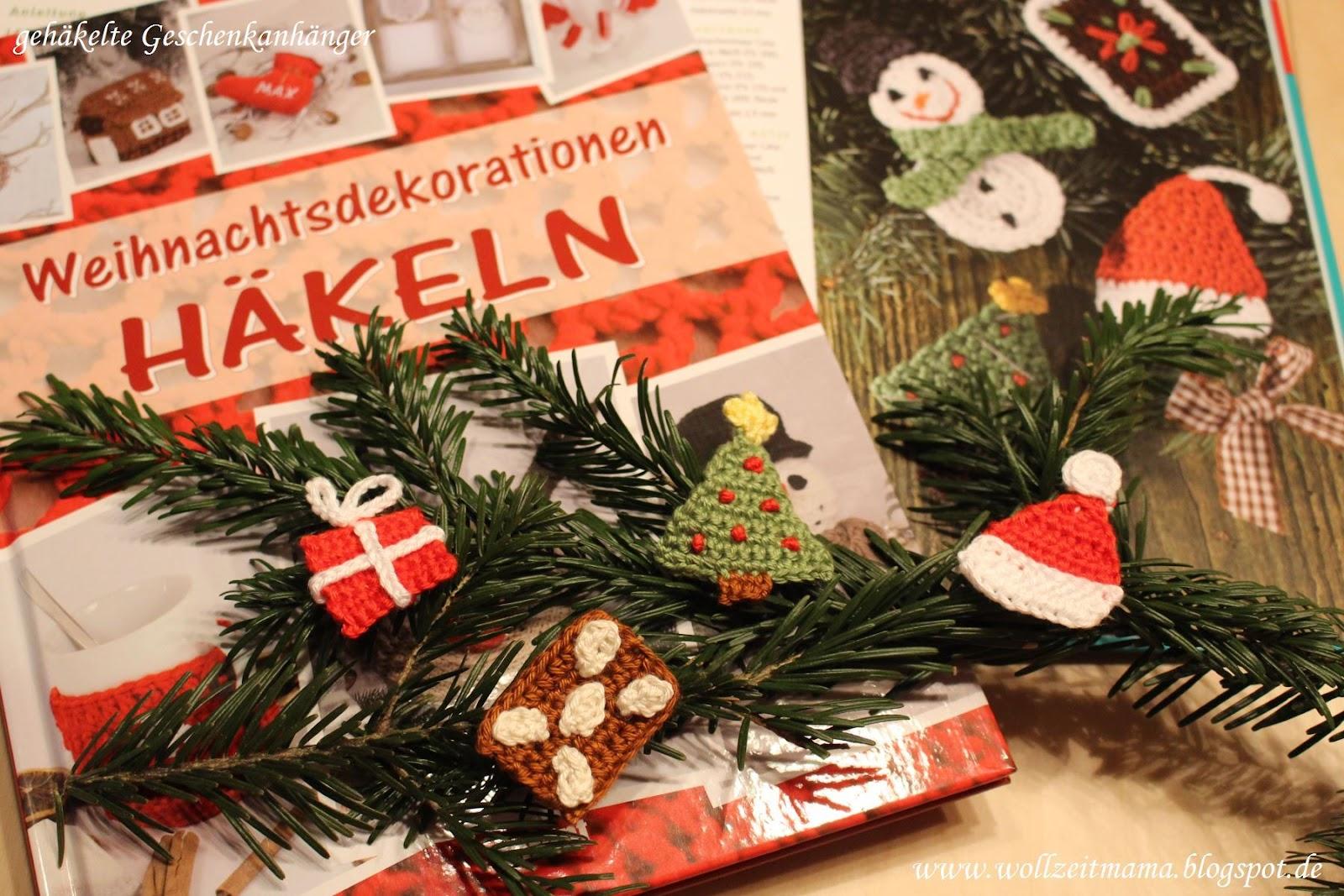 Wollzeitmama Diy Geschenkanhänger Zu Weihnachten Häkeln