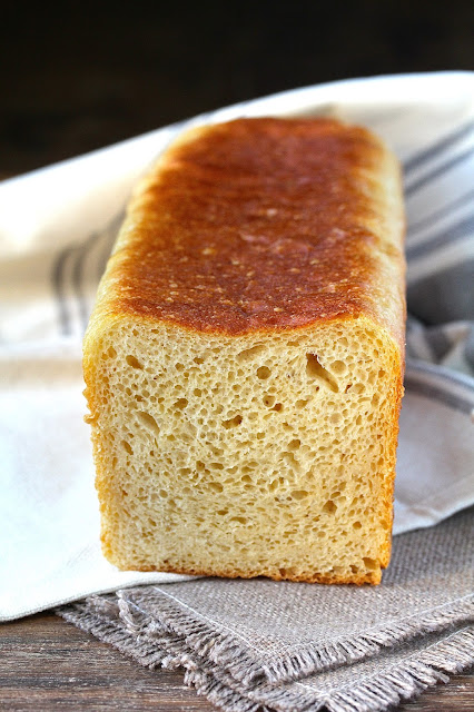 This potato bread is so perfect for toast or gooey grilled cheese sandwiches