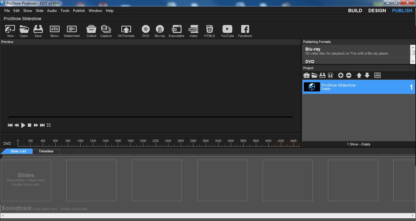 Phần mềm proshow proshowpruducer
