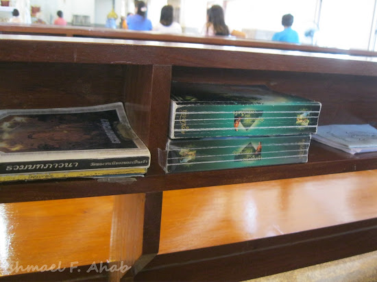 Missals and prayer books in Rangsit Catholic Church