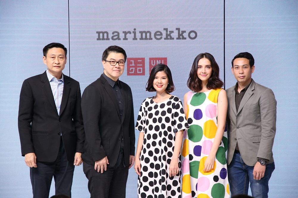 UNIQLO and Marimekko การร่วมมือกันครั้งแรก ที่สาวๆ ห้ามพลาด!  คอลเลคชั่นที่สร้างสรรค์ความแปลกใหม่ ชวนสนุกไปกับความเด่นสะดุดตา  วางจำหน่ายที่ ออนไลน์สโตร์ ก่อนใครตั้งแต่เวลา เที่ยงคืน วันที่ 30 มีนาคมเป็นต้นไป