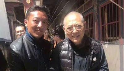 Foto terbaru Jet Li yang terlihat tua dan rapuh