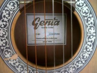 gitar genta khas bandung