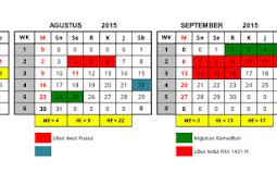 Aplikasi Kalender Pendidikan Versi Lengkap