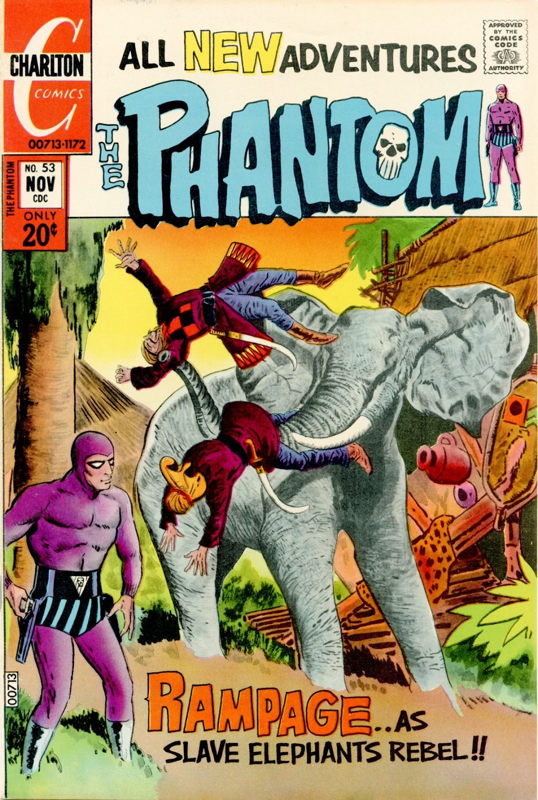 The Phantom (1969) issue 53 - Page 1