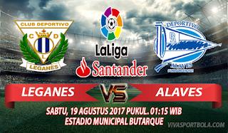 Prediksi Leganes vs Alaves 19 Agustus 2017