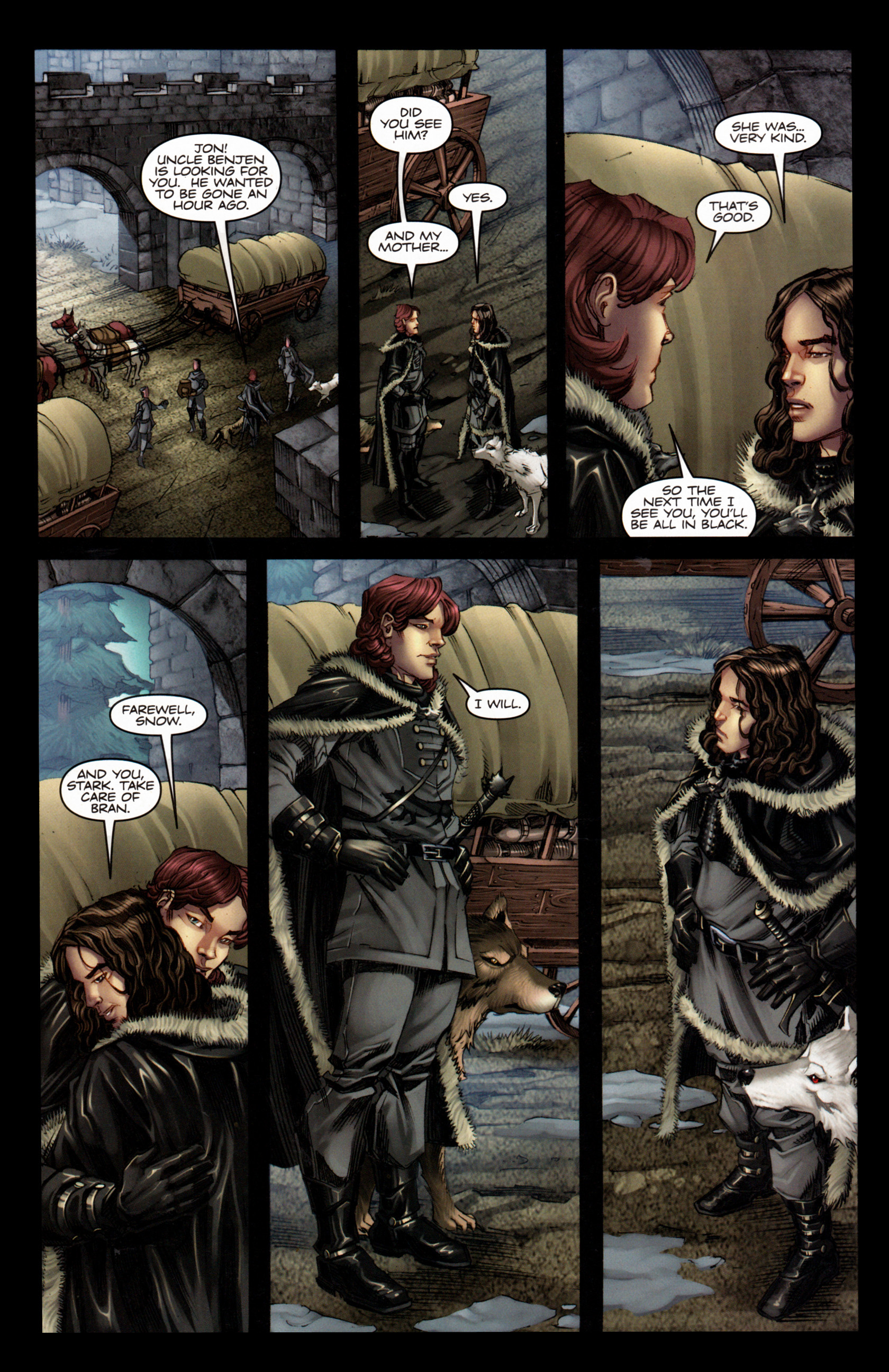 Read online A Game Of Thrones comic -  Issue #4 - 6