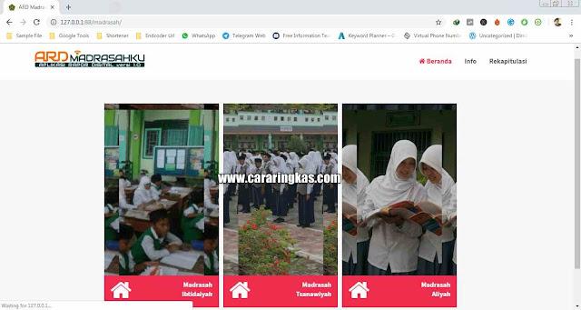 Cara Instal Ard Madrasah