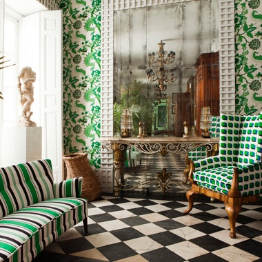 Eye For Design Decorating With Emerald Green