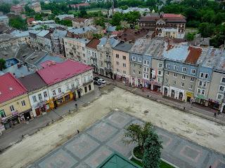 Дрогобич. Реставрація площі Ринок, частина вулиці Івана Мазепи