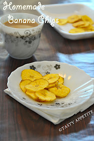 how to make banana chips at home step by step