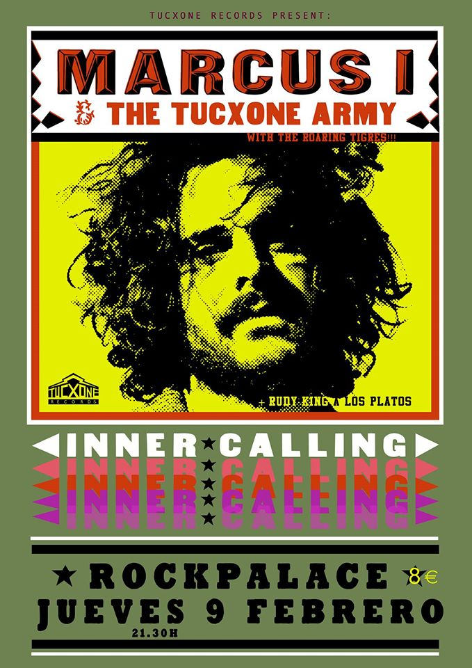 Marcus I and The Tucxone Army - Inner Calling
