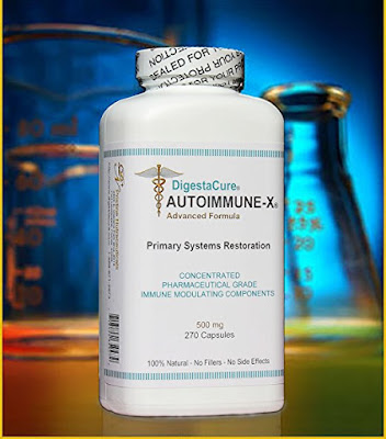 DigestaCure AUTOIMMUNE-X is the only formula in the world in relation to immune system / autoimmune diseases.