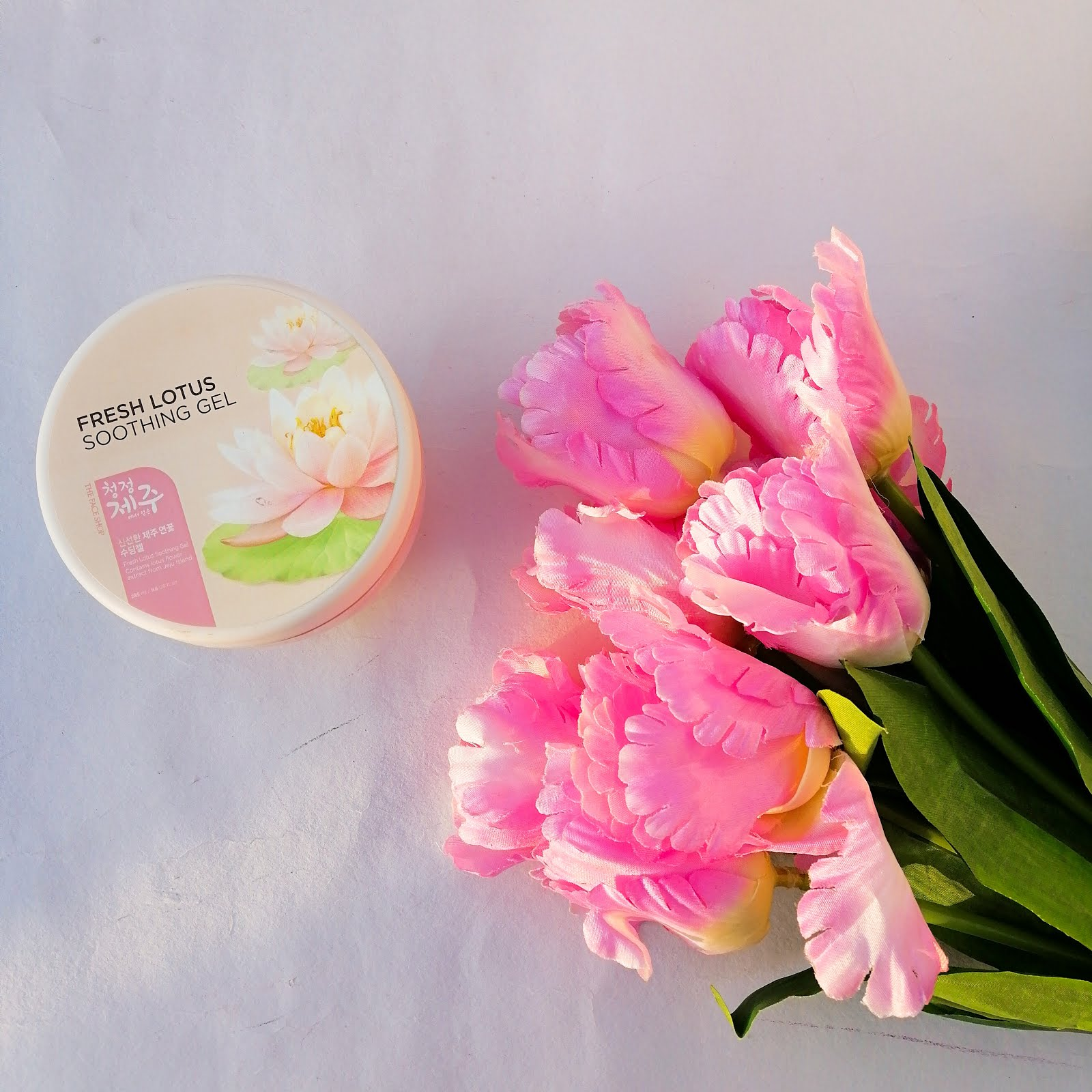 The Face Shop Fresh Jeju Lotus Soothing Gel Review