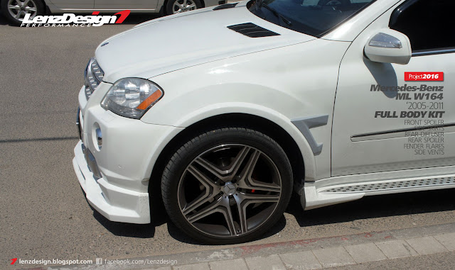 Mercedes-Benz ML W164 Lenzdesign Bodykit & Spoilers