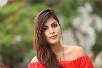Rhea Chakraborty in Red Crop Top and Denim Shorts Spicy Pics ~  Exclusive 356.JPG