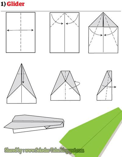 Cara Membuat Pesawat Kertas Yang Bisa Terbang Super Jauh: 12 Teknik Origami Membuat Pesawat Luncur