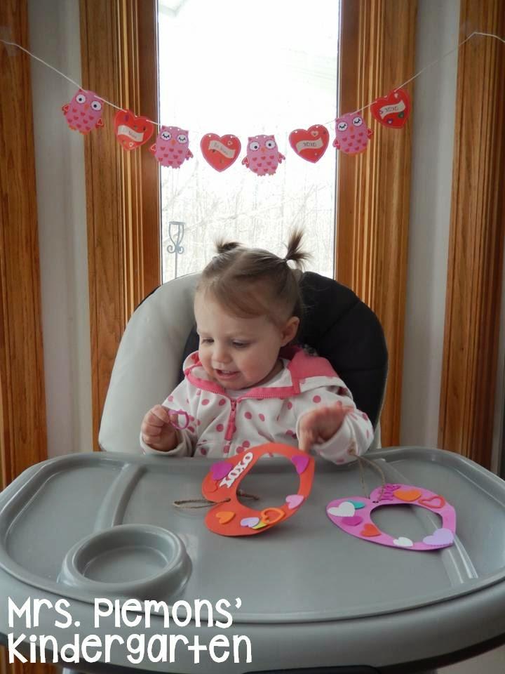 Kindergarten valentine's day freebies