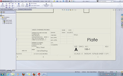 solidworks drawing template tutorial - automatic fill in drawing title block cadvision systems