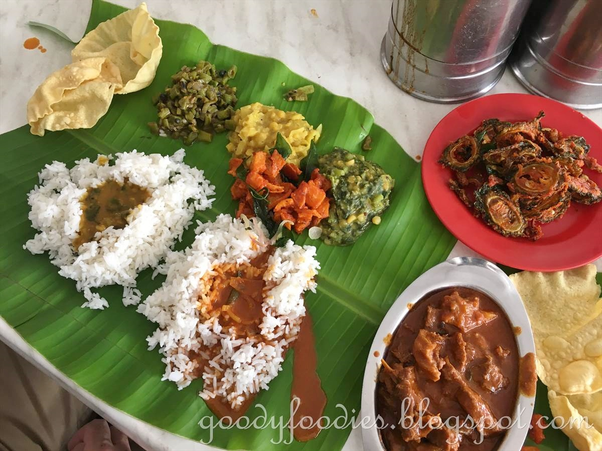 Goodyfoodies Annapuurnam Chetinad Restaurant Bangsar Kl Banana