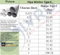 Pipa Winlon Tipe C