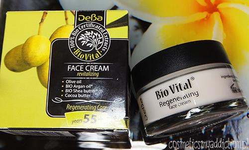 DEBA | Bio Vital Regenerujący krem do twarzy 55+