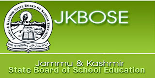 J&K Board 10th Model Papers 2019