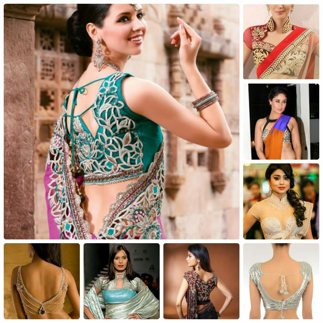 Modern Sri Lankan Saree Blouse Designs and Design Ideas ...