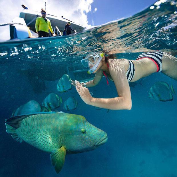Parineeti Chopra Goes Snorkeling in the Ocean