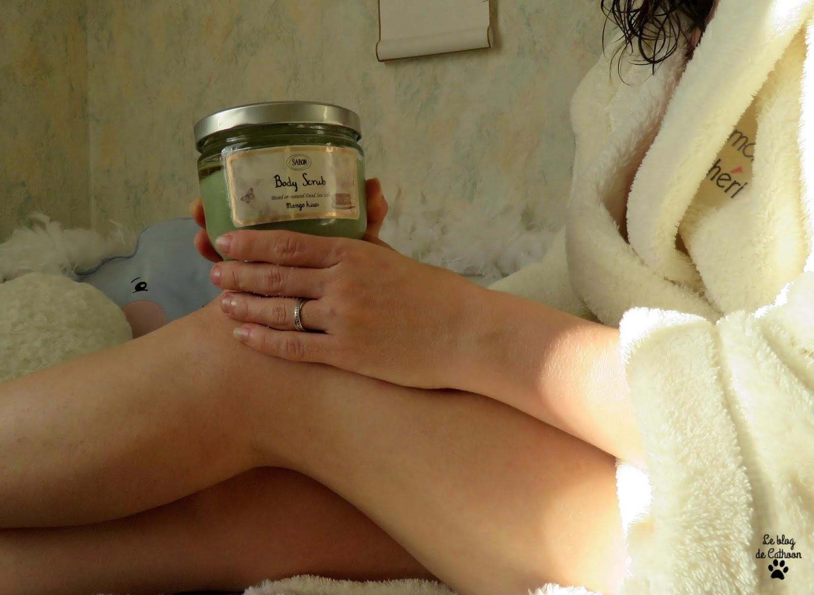Gommage aux sels de la Mer Morte Mangue / Kiwi - Sabon