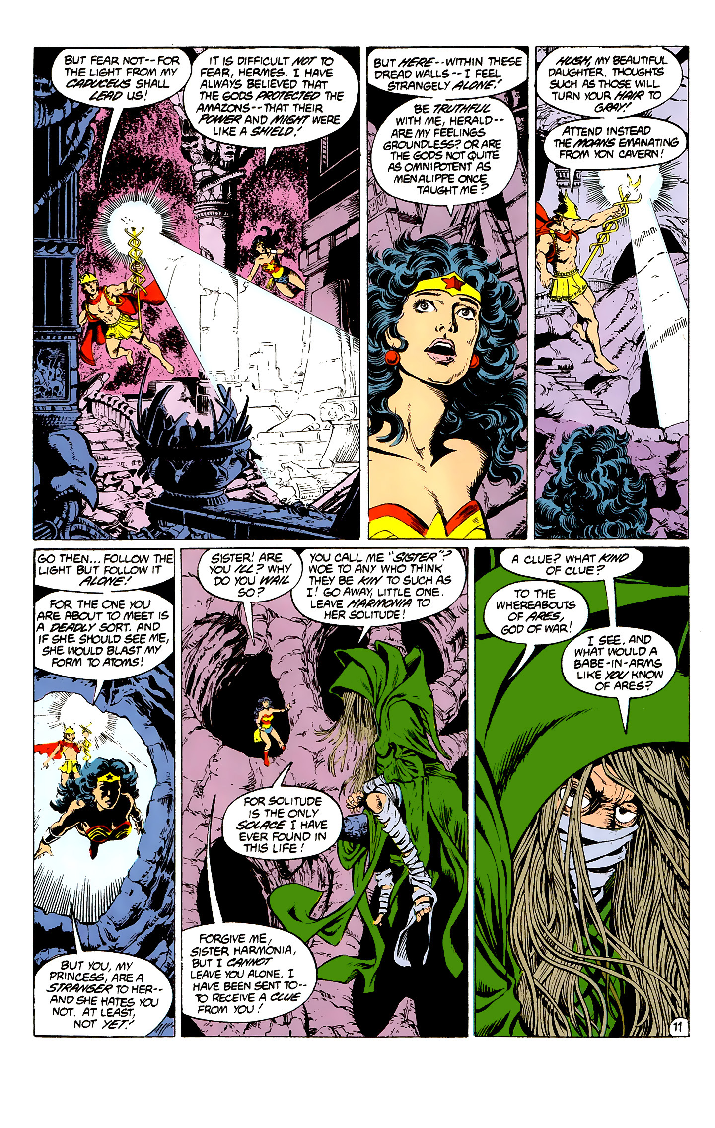 Read online Wonder Woman (1987) comic -  Issue #2 - 12