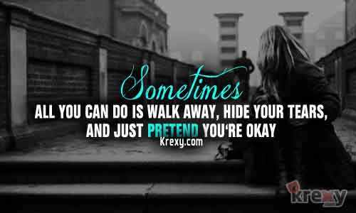 Sometimes It S Better To Push Someone Away Not Because: Every Breath Hurts, Take The Pain Away