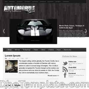 AutoMobile blogger template. blogger template 3 column footer. automotive template blogspot free