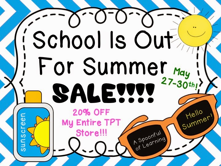 End of Year Craft & School is Out for Summer SALE!!!