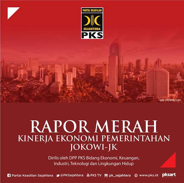 Ini Sepuluh Rapor Merah Kinerja Jokowi-Jk Versi PKS