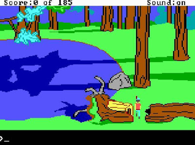 Videojuego King's Quest II Romancing the Throne
