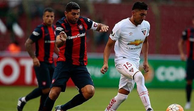 San Lorenzo vs LDU Quito en vivo