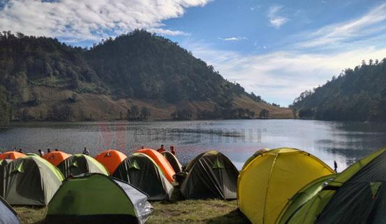 Ranu Kumbolo, salahsatu destinasi wisata di Lumajang