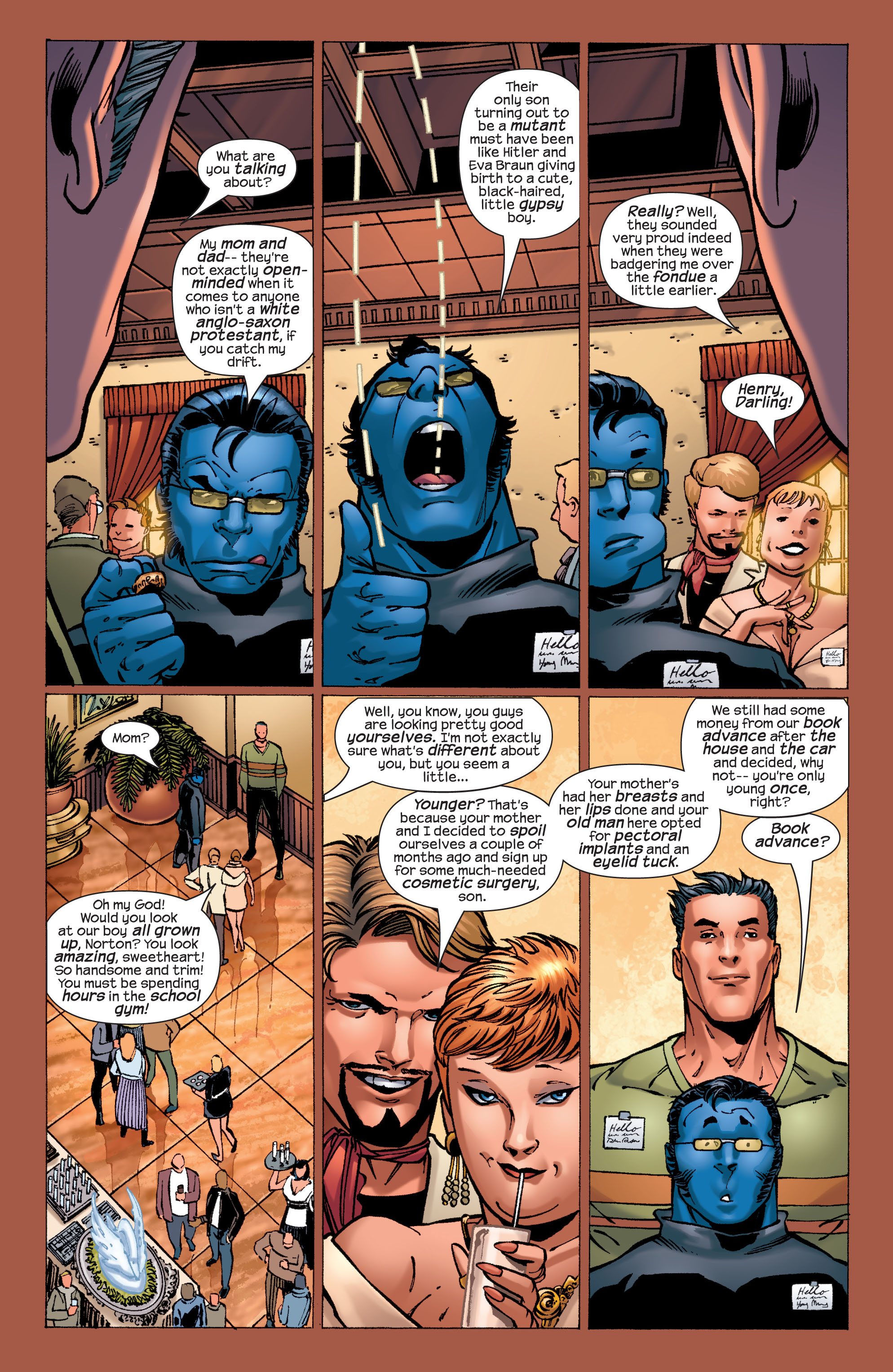 Read online Ultimate X-Men comic -  Issue #32 - 17