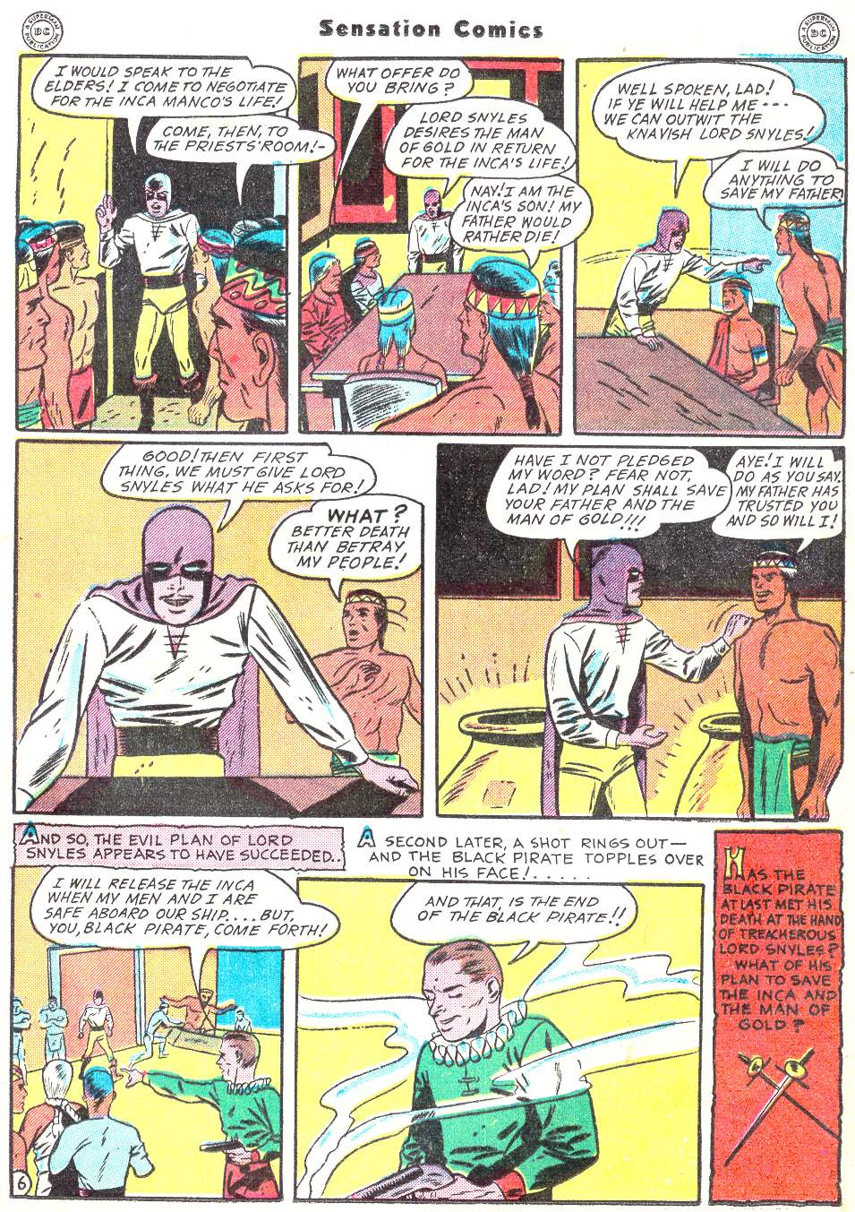 Read online Sensation (Mystery) Comics comic -  Issue #50 - 37