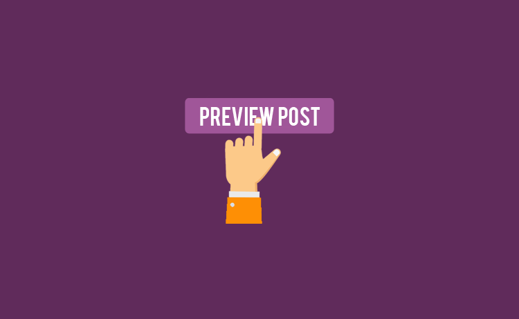 Cara sembunyikan widget di halaman preview post