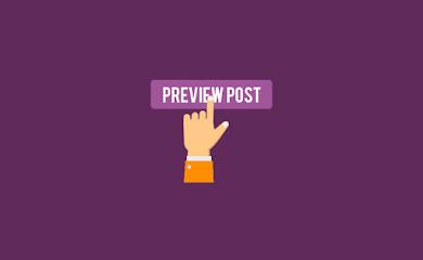 Cara Menyembunyikan Widget Tertentu pada Tampilan Pratinjau Postingan (Preview Post)