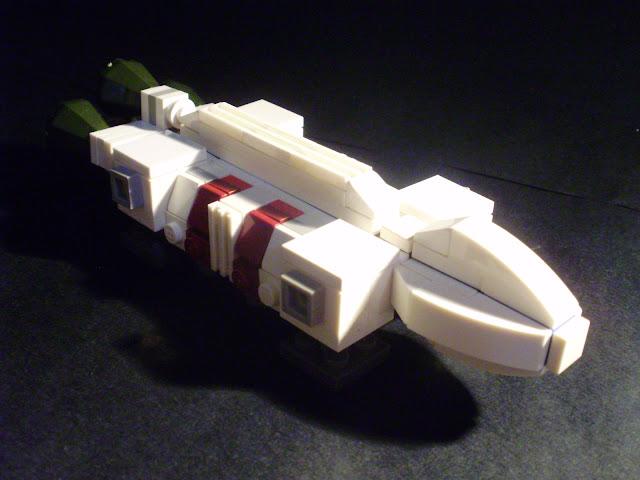MOC LEGO Águia do Espaço:1999
