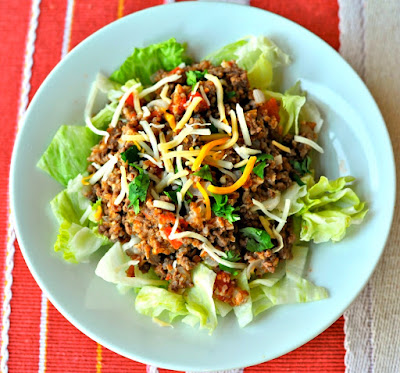 Mexican Beef and Bulgur Salad recipe