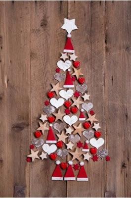 Cómo adornar las paredes navideñas con papel, manualidades navideñas con papel para las paredes