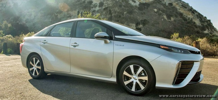 Toyota Mirai 2018 Hydrogen Review And Release Date